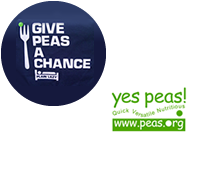 Give Peas A Chance! & Yes Peas Campaign